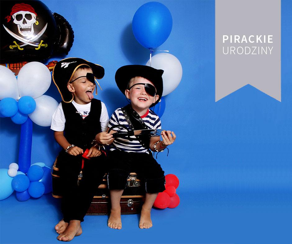 pirackie urodziny dla dzieci