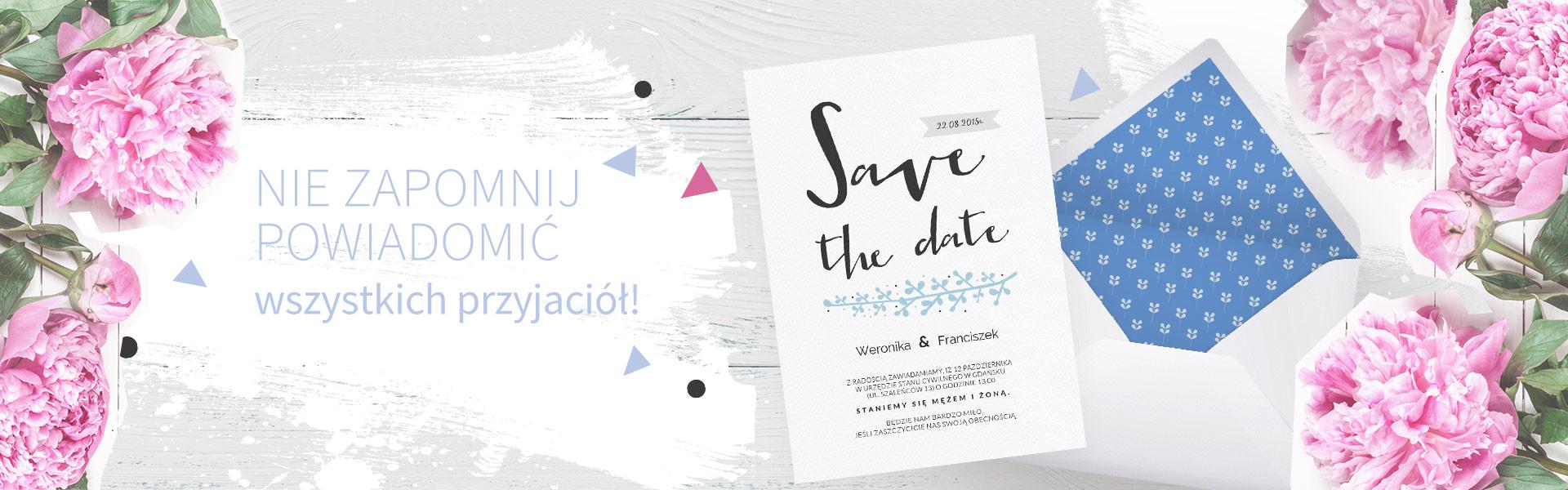 Zaproszenia Na Każdą Okazję ślub Urodziny Smartinvite